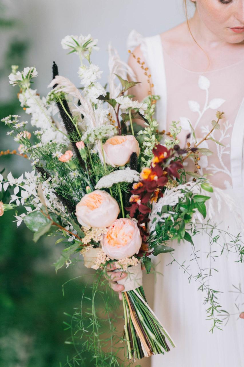Fleuriste Miss Acacia - Bouquet de mariée champêtre