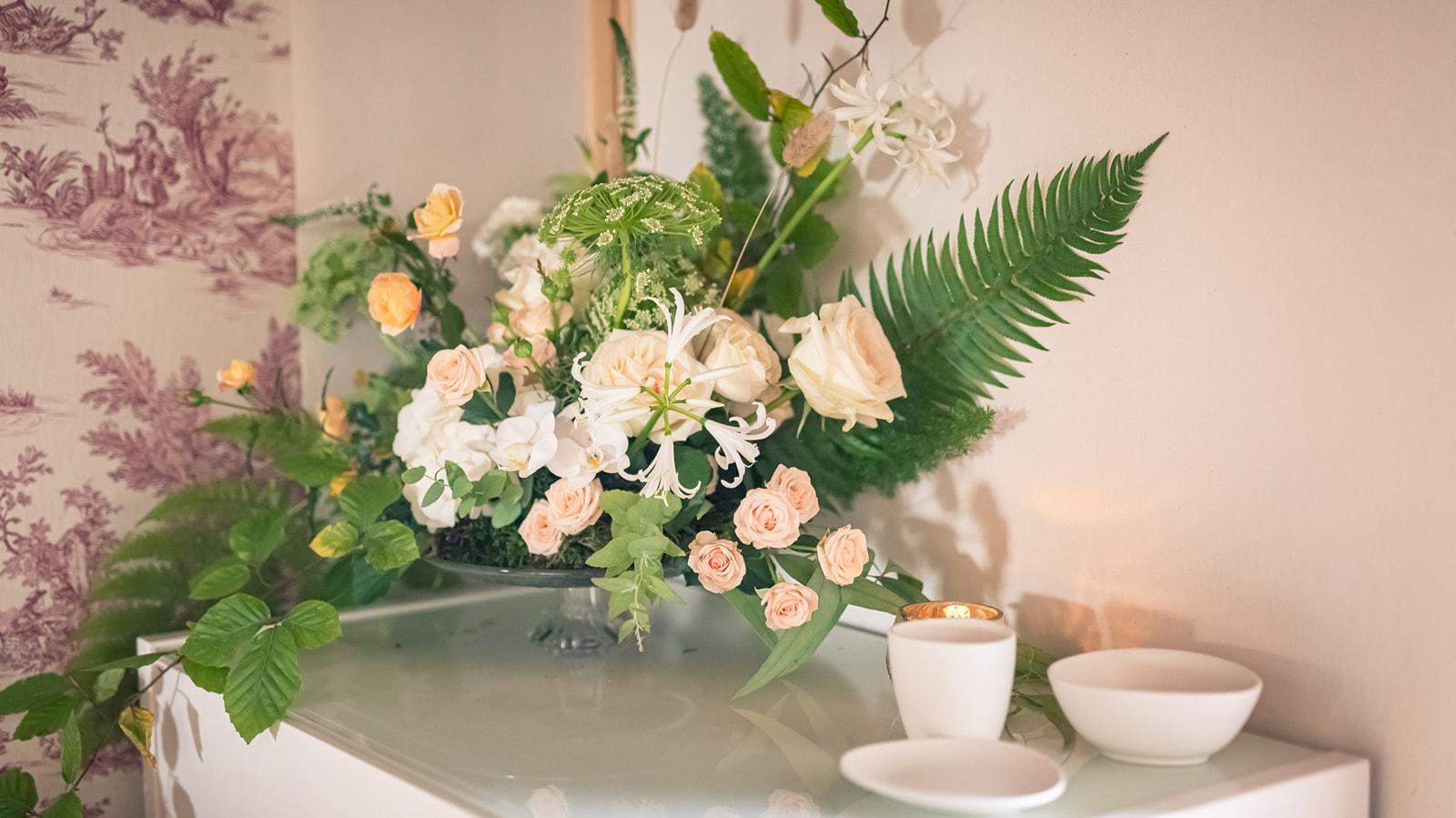 Fleuriste Miss Acacia - Centre de table mariage nature