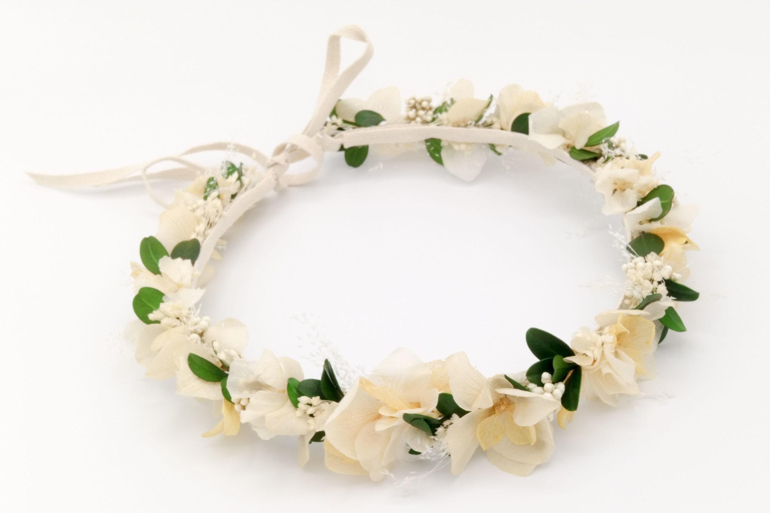 Fleuriste Miss Acacia - Couronne en fleurs séchées