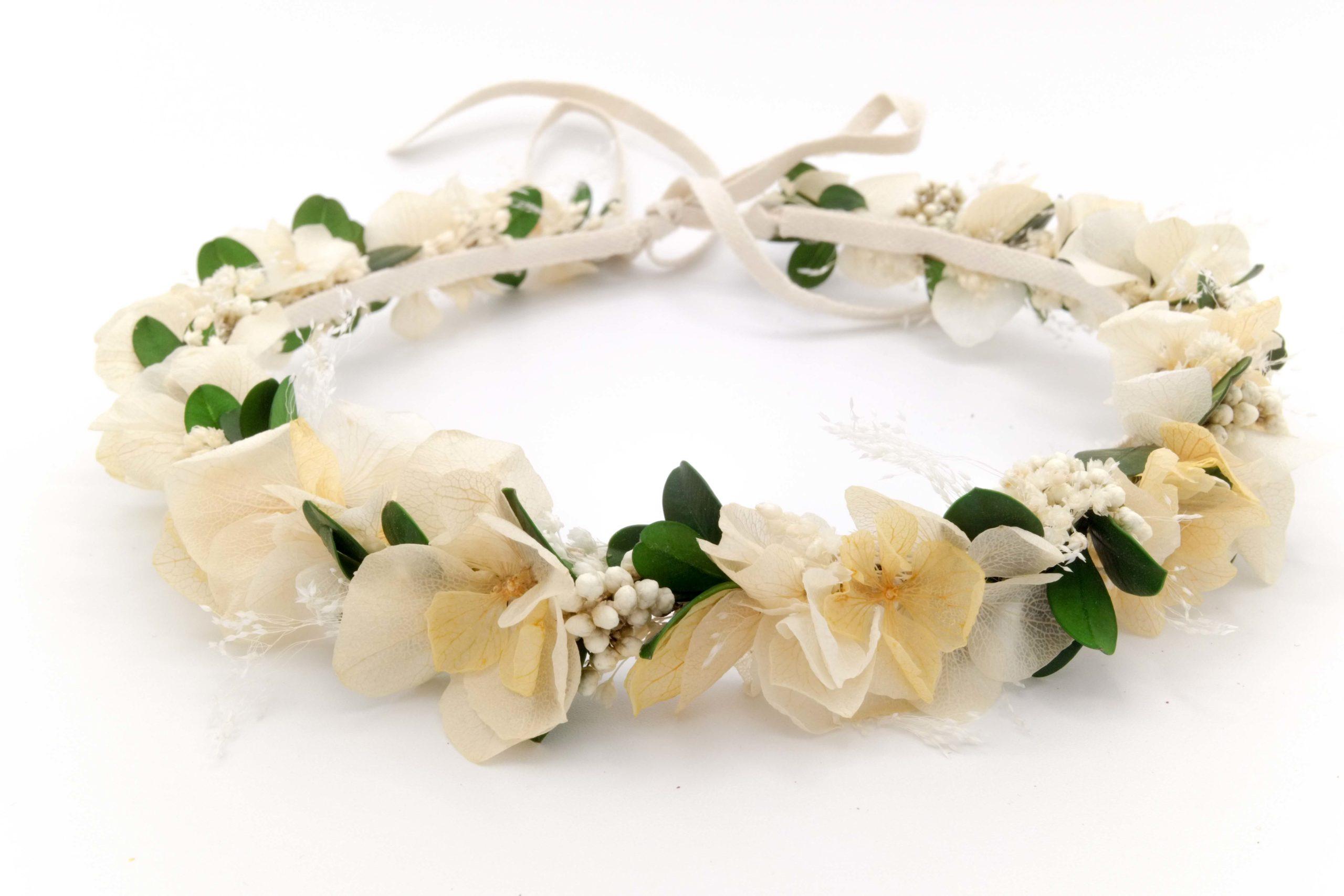 Fleuriste Miss Acacia - Couronne de fleurs stabilisées