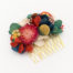 Miss Acacia - Peigne en fleur séchées Frida Kahlo