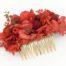 Miss Acacia - Peigne glamour en fleur stabilisées