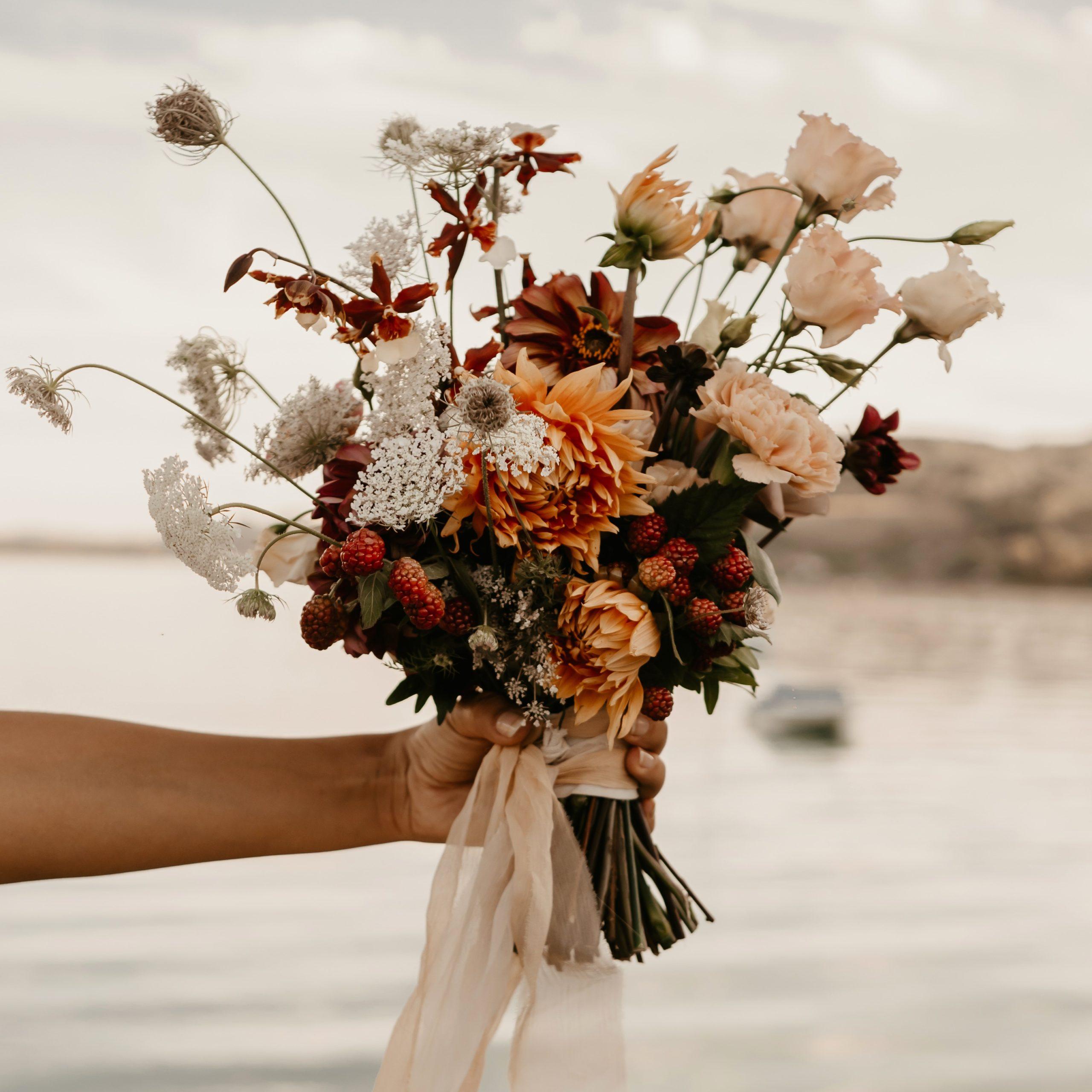 Miss Acacia - bouquet de mariée estival